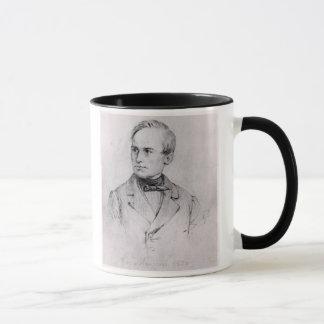 Giuseppe Mazzini (1805-72) 1830 (Holzkohle) (b/w Tasse
