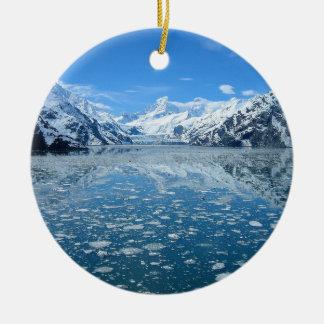 Glacier Bay Rundes Keramik Ornament