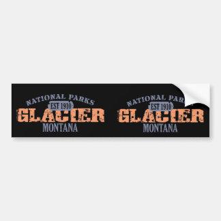 Glacier Nationalpark Autoaufkleber