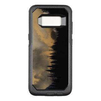 Glacier Nationalpark-bedrohlicher Himmel und Bäume OtterBox Commuter Samsung Galaxy S8 Hülle