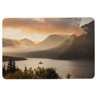 Glacier Nationalpark des St. Mary See-|, Montana Bodenmatte
