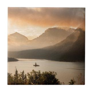 Glacier Nationalpark des St. Mary See-|, Montana Keramikfliese