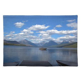 Glacier Nationalparkphotographie Tischsets
