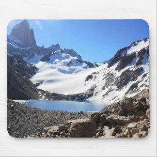 Glacier See-naher Berg Fitz Roy Mousepad