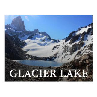 Glacier See-naher Berg Fitz Roy Postkarte