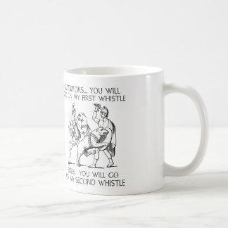 Gladiatoren gehen Sie auf meine erste Pfeife Kaffeetasse