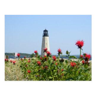 Gladstone, Michigan-Leuchtturm Postkarte