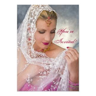 Glamour-Einladung - Schmuck/Mode 12,7 X 17,8 Cm Einladungskarte