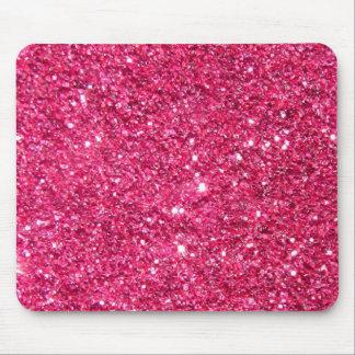Glamour-heißes Rosa-Glitter Mousepads