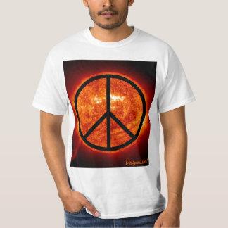 Glanz auf Frieden T-Shirts