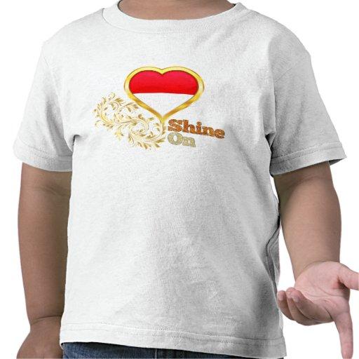 Glanz auf Monaco T Shirts
