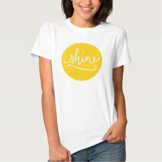 Glanz-Damen-T-Shirt Hemd