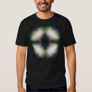 Glanz-Mandala-Entwurfs-T-Stück Tshirts