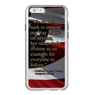 GLANZ PRES45 ALS BEISPIEL INCIPIO FEATHER® SHINE iPhone 6 HÜLLE