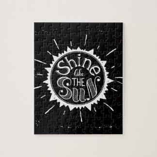 Glanz wie The Sun Puzzle