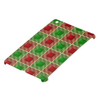 Glänzende festliche Quadrate iPad Mini Hülle