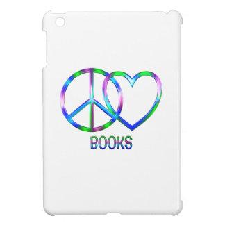 Glänzende FriedensLiebe-Bücher iPad Mini Hülle