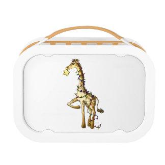 Glänzende Giraffe Brotdose