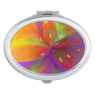 Glänzende Lilie Taschenspiegel