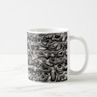 Glänzende metallische Reflexionen Kaffeetasse