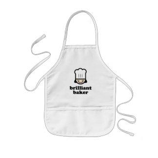 Glänzender Bäcker Kinderschürze
