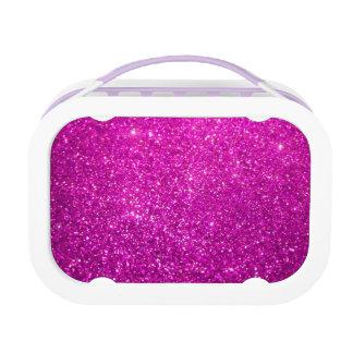 Glänzender Glamour-Schein-Glitter Brotdose