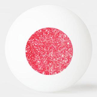 Glänzender Glitter-Schein Ping-Pong Ball