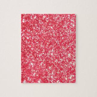 Glänzender Glitter-Schein Puzzle