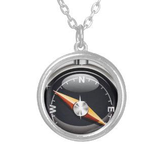 Glänzender Kompass