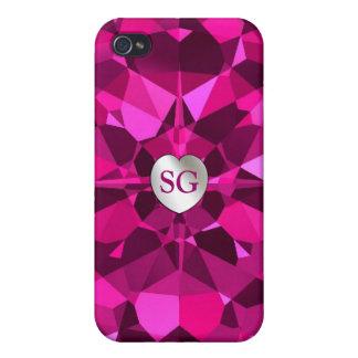 Glänzender rosa Diamanten iPhone 4 Fall Schutzhülle Fürs iPhone 4