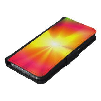 Glänzender Stern Samsung Galaxy S6 Geldbeutel Hülle