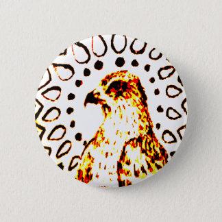 Glänzender WüsteFox Runder Button 5,7 Cm
