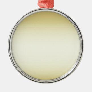 Glänzendes glänzendes Gold Silbernes Ornament