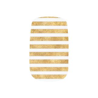 Glänzendes Gold - Gewohnheit Ihre Minx Nagelkunst