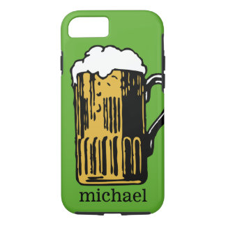Glas Bier-Name- u. -farbtelefon-Hüllen iPhone 8/7 Hülle