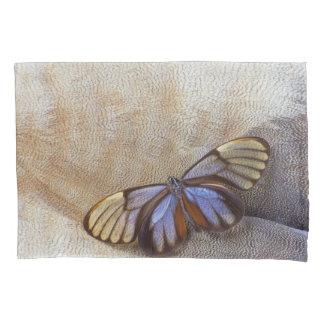 Glas-Flügel Schmetterlings-ägyptische Gans-Feder Kissenbezug