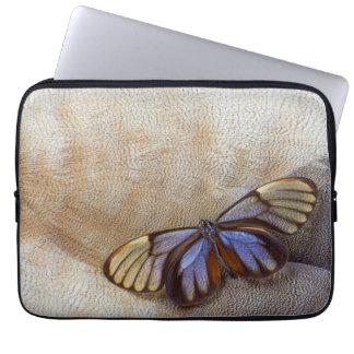 Glas-Flügel Schmetterlings-ägyptische Gans-Feder Laptopschutzhülle