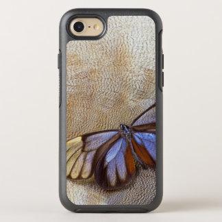 Glas-Flügel Schmetterlings-ägyptische Gans-Feder OtterBox Symmetry iPhone 8/7 Hülle