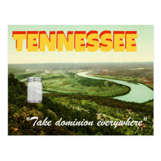 """Glas in Tennessee"" Stevens-themenorientierte Postkarte"