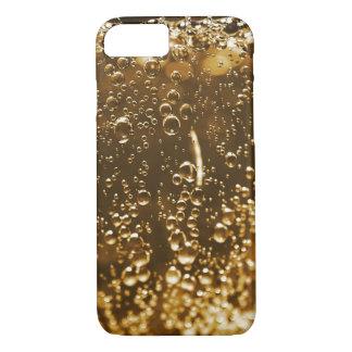 Glas von sprudelndem iPhone 8/7 hülle