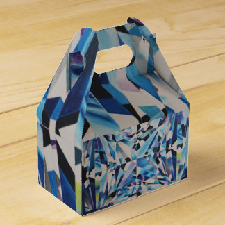 Glasdiamant-Giebel-Bevorzugungs-Kasten Geschenkschachtel