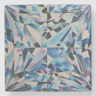 Glasdiamant Marmor-Stein-Untersetzer Steinuntersetzer