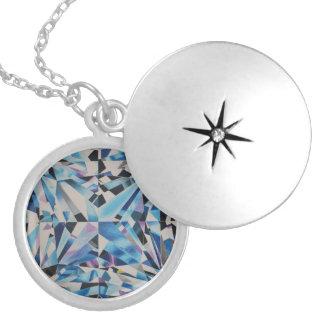 Glasdiamant-mittleres Silber überzogen ringsum Medaillon