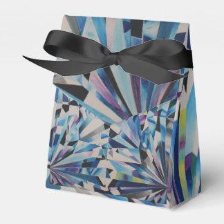 Glasdiamant-Zelt-Bevorzugungs-Kasten Geschenkschachtel