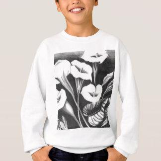 Gläser der Milch Sweatshirt