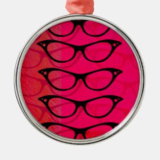 Gläser Silbernes Ornament