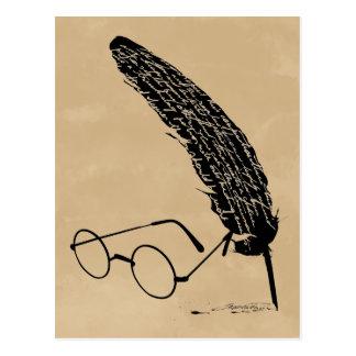 Gläser und Spule Harry Potters | Postkarte