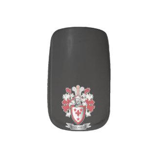GlasFamilienwappen-Wappen Minx Nagelkunst
