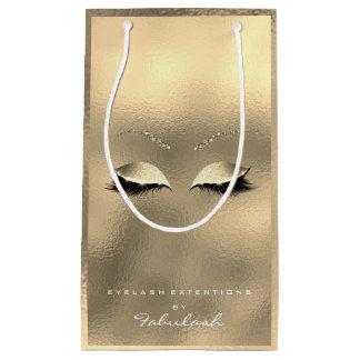 GlasgoldGlitter-Make-up peitscht Schönheits-Weiß Kleine Geschenktüte