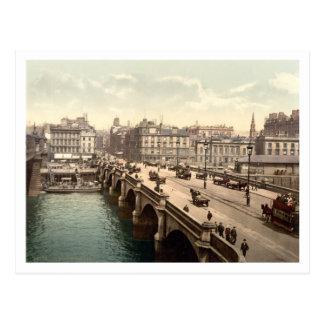 Glasgow-Brücke, Glasgow, Schottland Postkarte